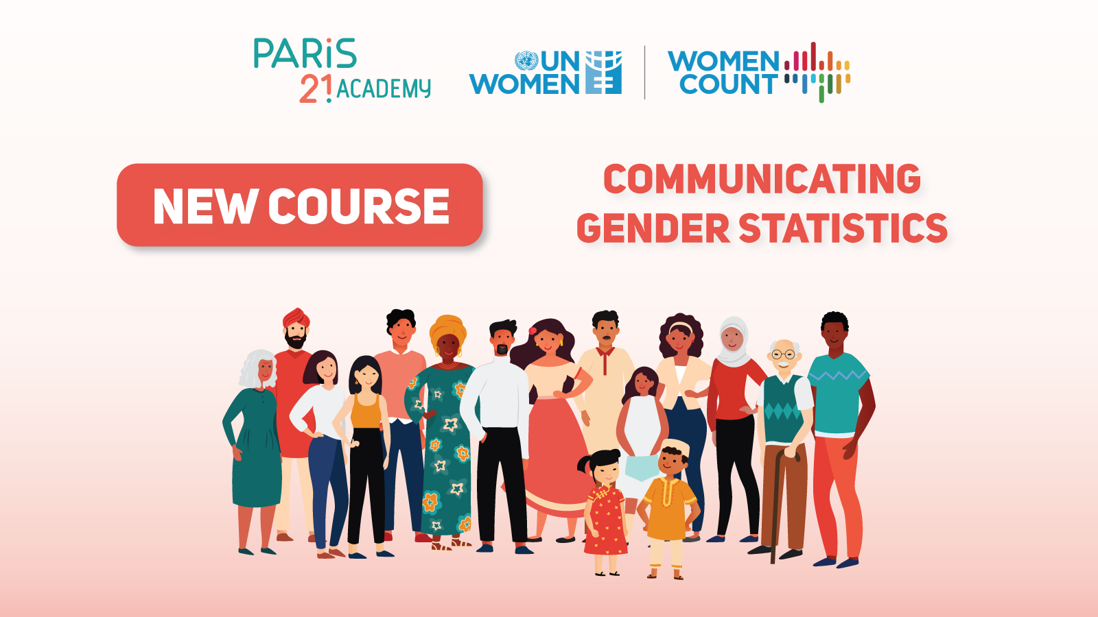 PARIS21, UN Women course: Communication gender statistics