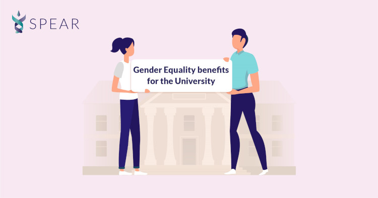 Gender equality benefits for the University