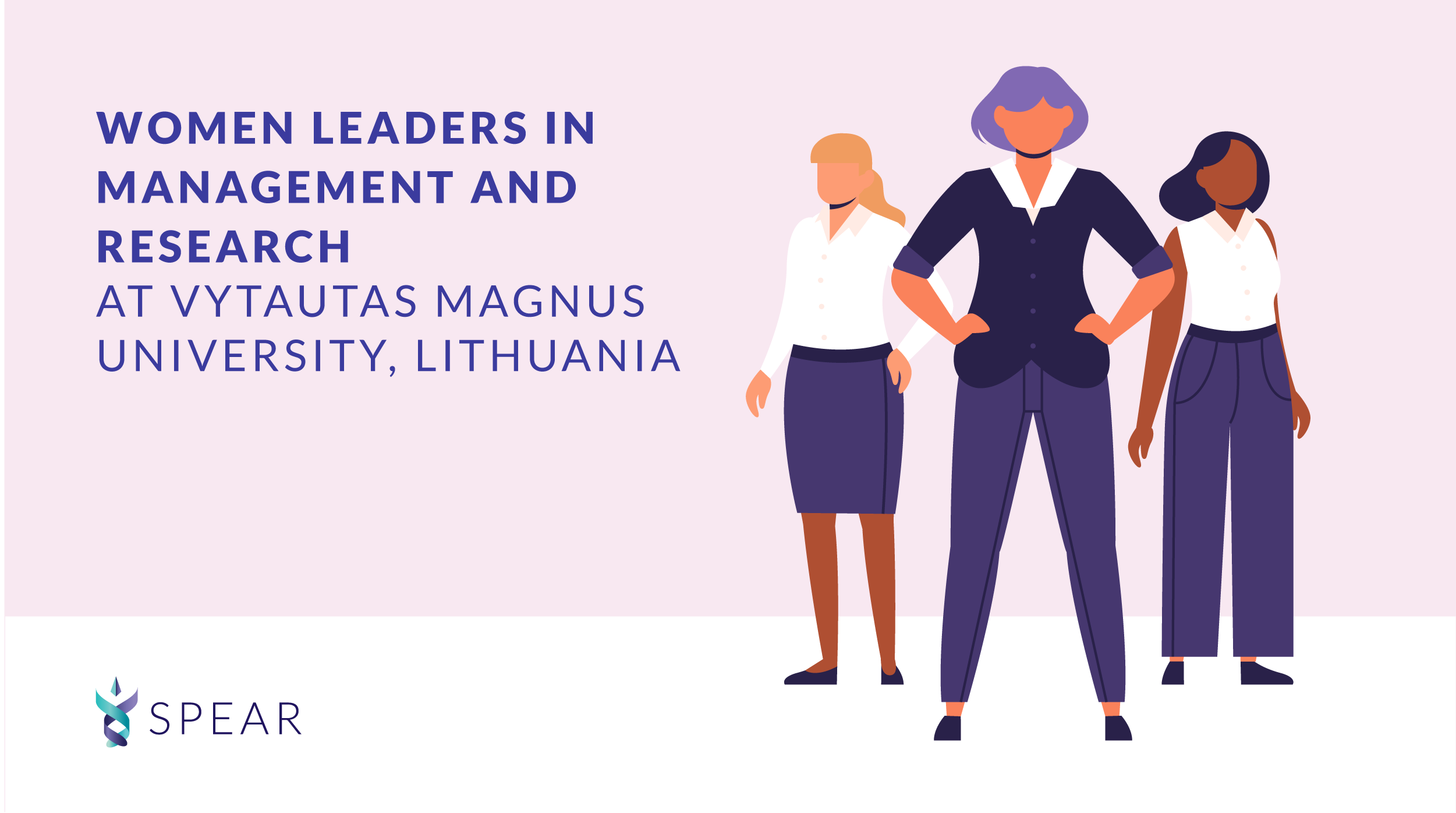 Women leaders in management and research at Vytautas Magnus University, Lithuania