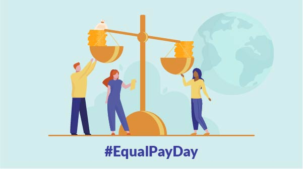 The first-ever International Equal Pay Day!