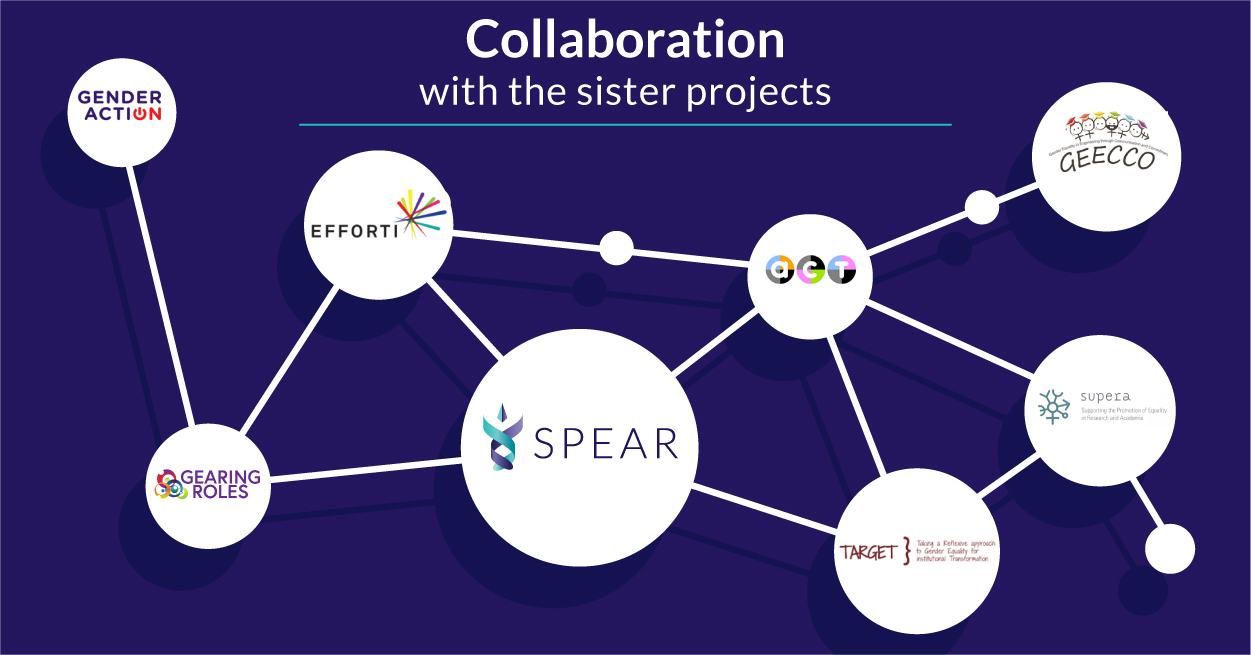 Working together towards gender equality in academia – SPEAR's cooperation with sister projects